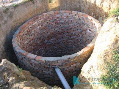 Как сделать выгребную яму из кирпича?
