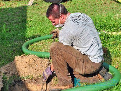 Способы предотвращения задержки воды в выгребной яме