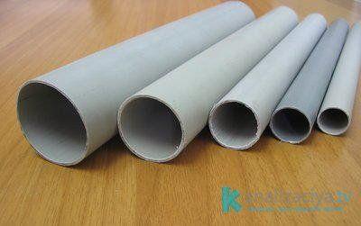 Особенности пластиковой водосточной трубы