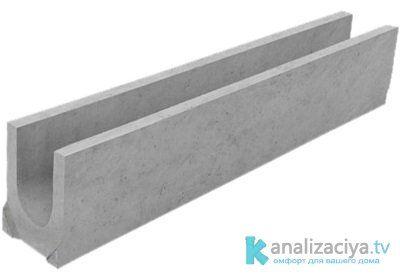 Особенности бетонных лотков