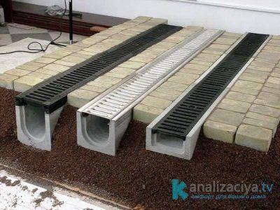 Цена бетонных лотков