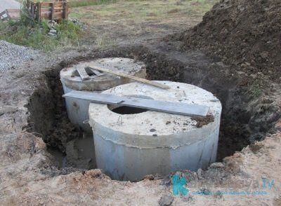 Особенности септиков из бетонных колец