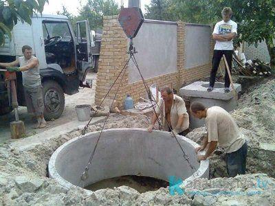 Недостатки септика из бетонных колец