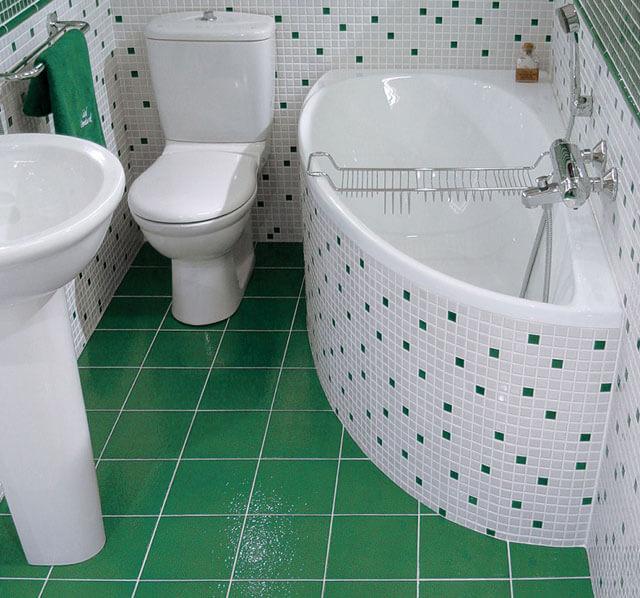 стандартная высота ванны