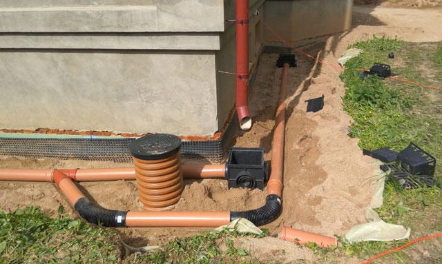 система дождевой канализации