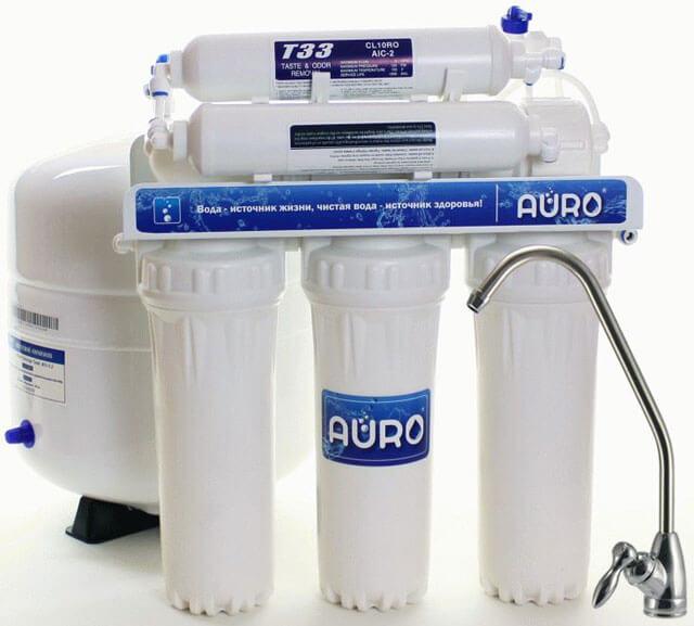 как подключить фильтр для воды