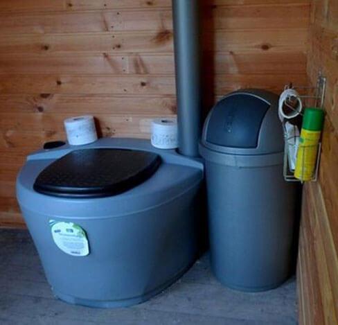 виды дачных туалетов