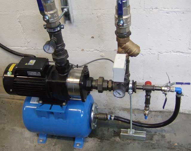 насос для воды для повышения давления