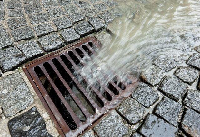 водоприемник для ливневой канализации
