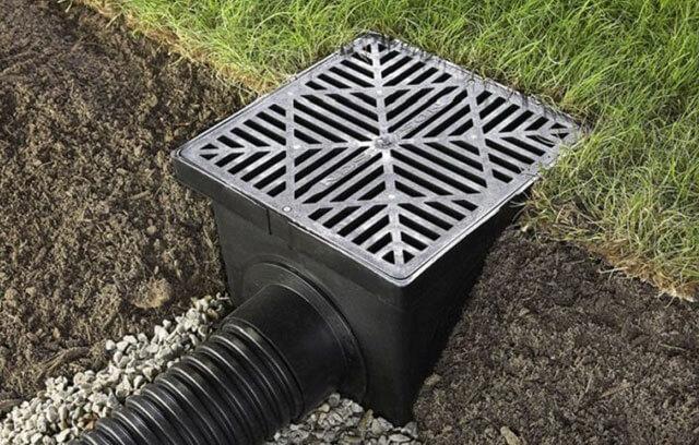 дождеприемный колодец для ливневой канализации