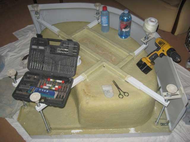 ремонт роликов душевой кабины