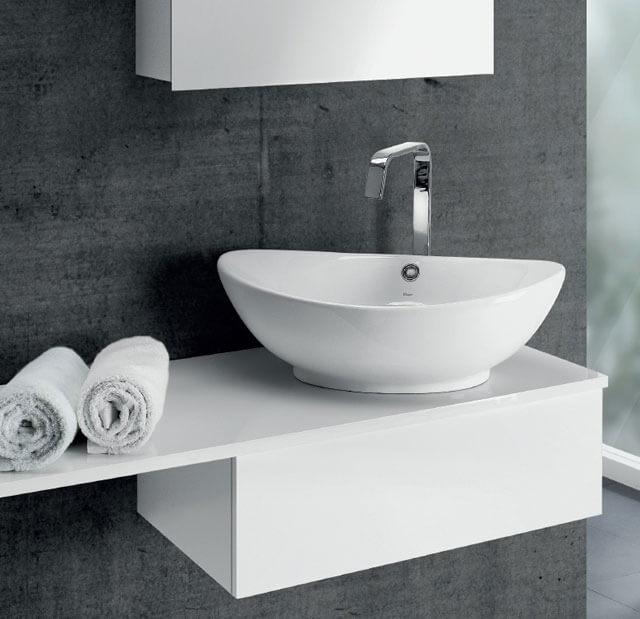 ширина раковины в ванной