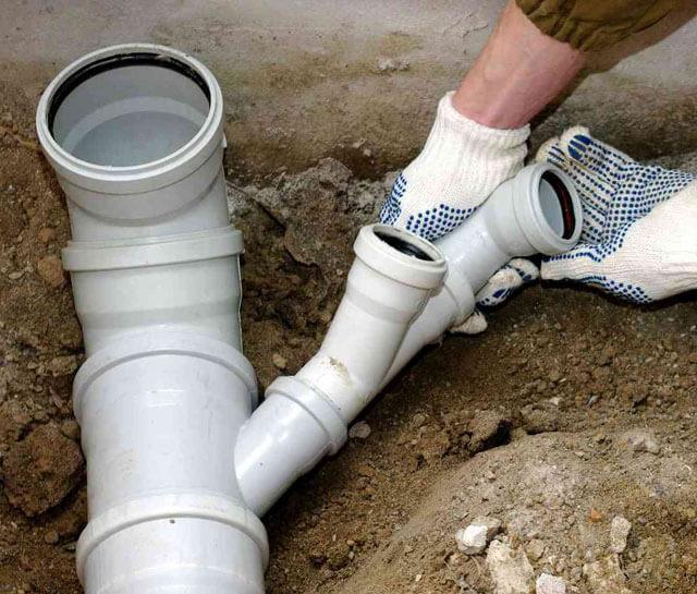 чистка канализационных труб в частном доме
