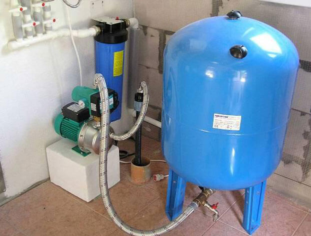 как подключить глубинный насос к гидроаккумулятору