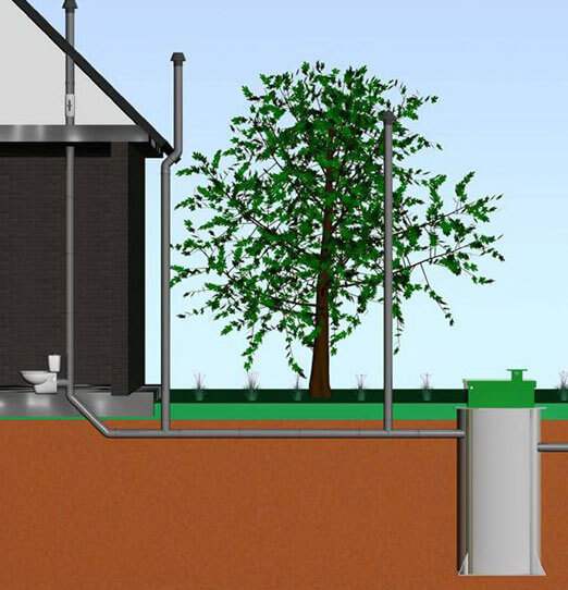 вентиляция канализационного стояка