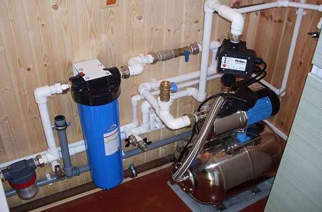 установка насосной станции на скважину