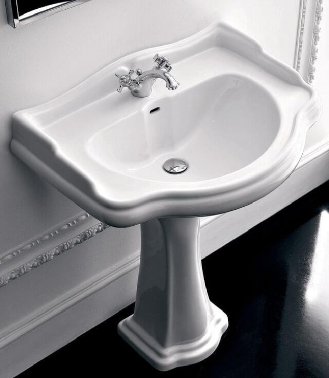 высота умывальника в ванной от пола стандарт