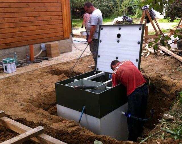 как правильно сделать канализационную яму