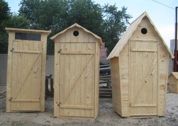 летний туалет для дачи