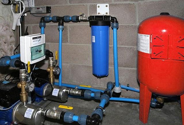 как правильно подключить гидроаккумулятор для водоснабжения