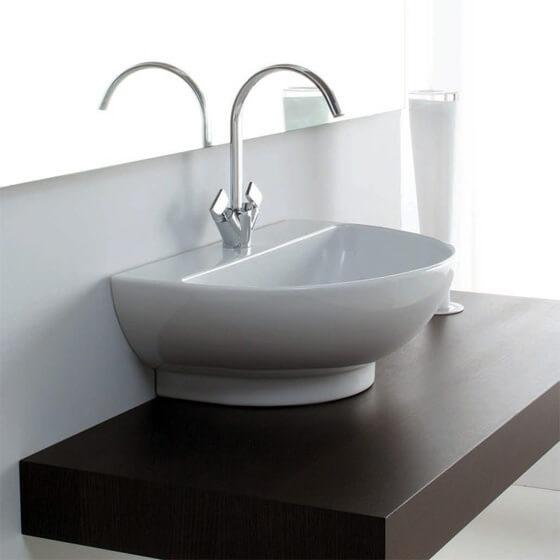 высота установки раковины в ванной