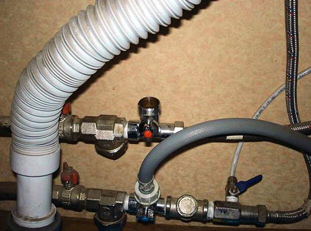 как подключить посудомоечную машину к водопроводу