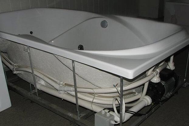 сделать ванну своими руками