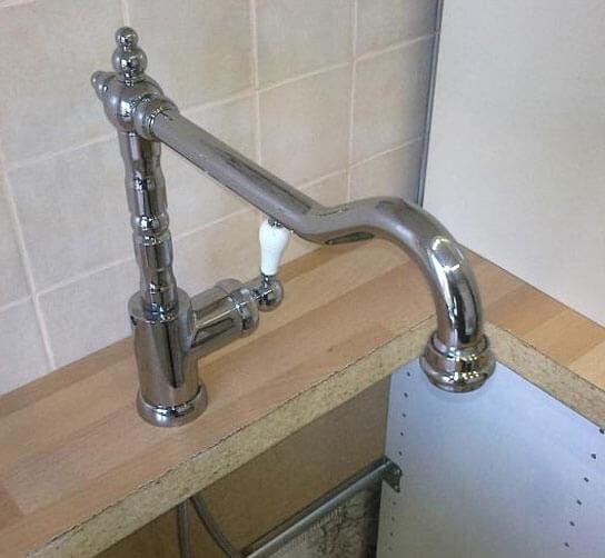 как подключить кран на кухне к водопроводу