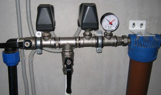 датчик давления воды для насоса