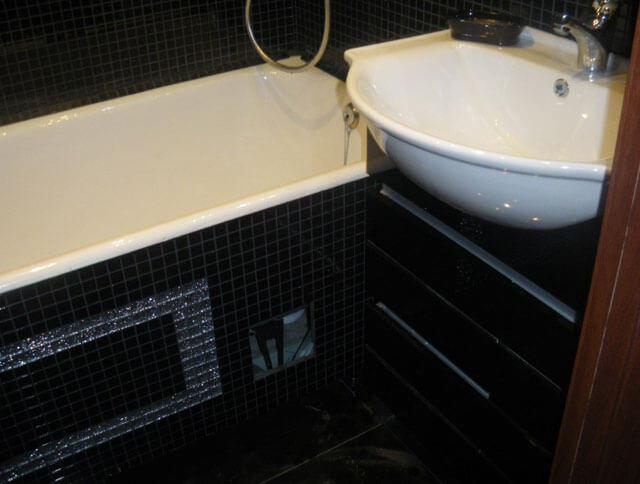 высота ванной от пола стандарт
