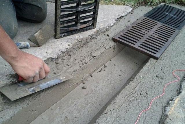 пластиковые дождеприемники для ливневой канализации