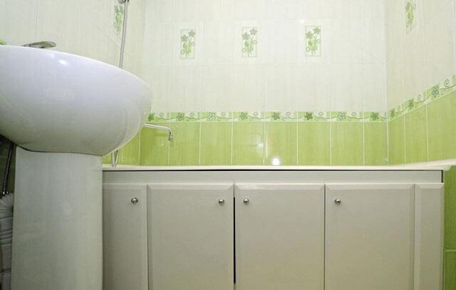 раздвижной экран под ванну своими руками