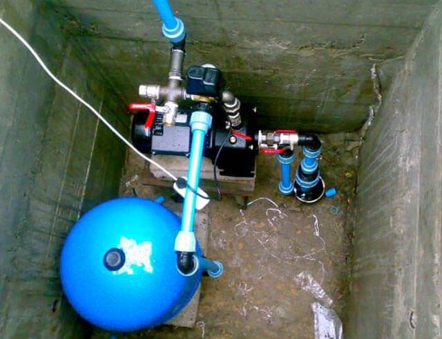 погружная насосная станция для скважины