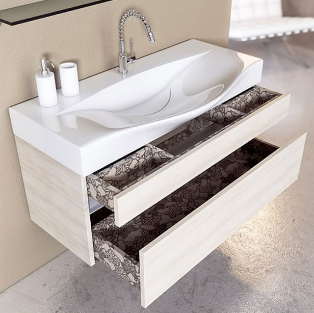 размеры умывальников для ванной
