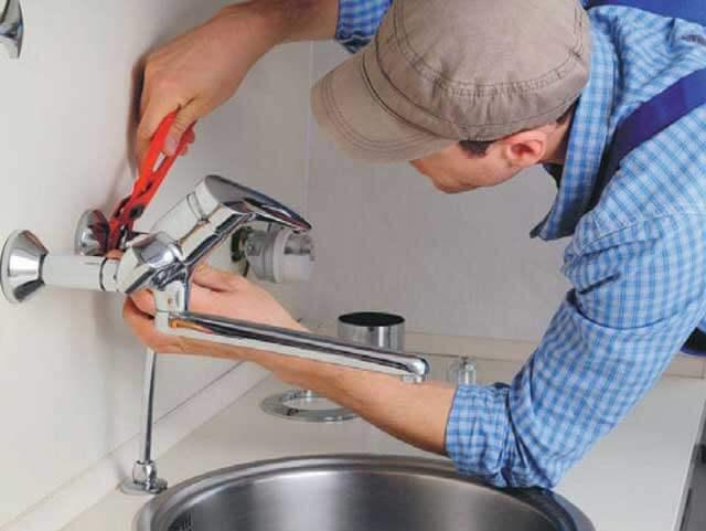 как установить водопроводный кран