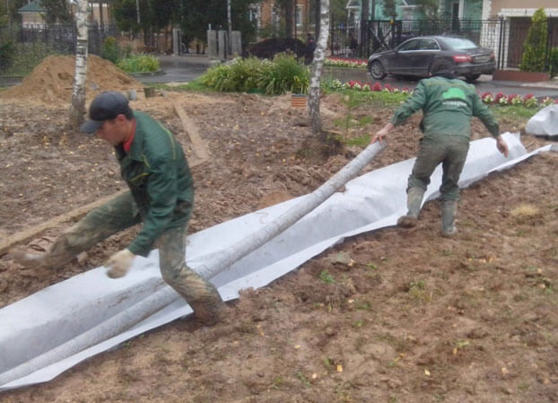 дренаж садового участка своими руками