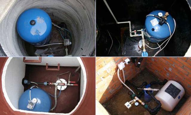 установка кессона на скважину