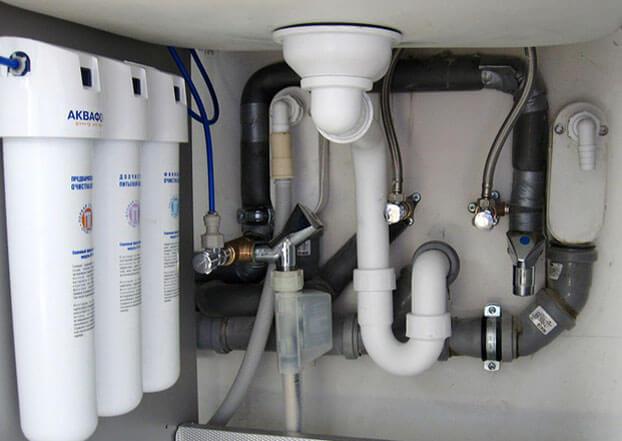 подключение умывальника к канализации