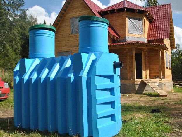 септик канализация в частном доме