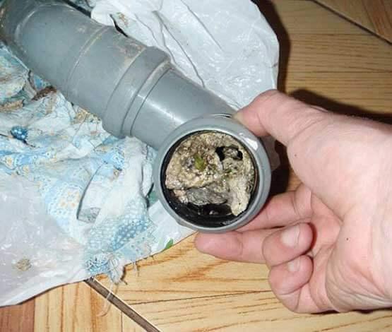 чистка канализационных труб