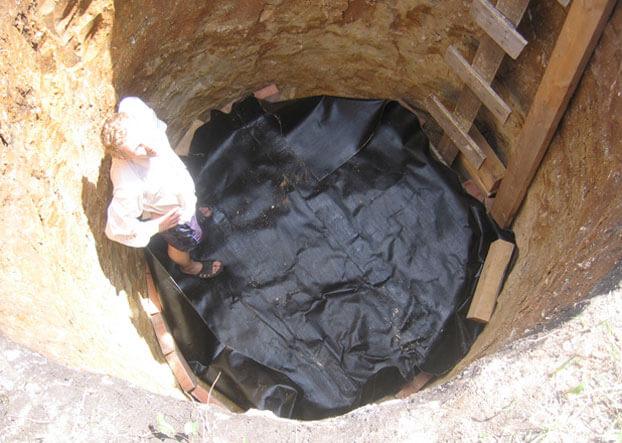 септик в глинистой почве