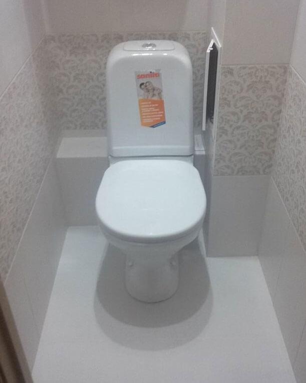 как правильно установить унитаз в туалете