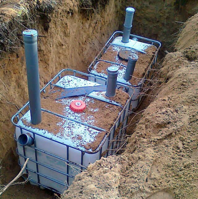 автономная система канализации частного дома