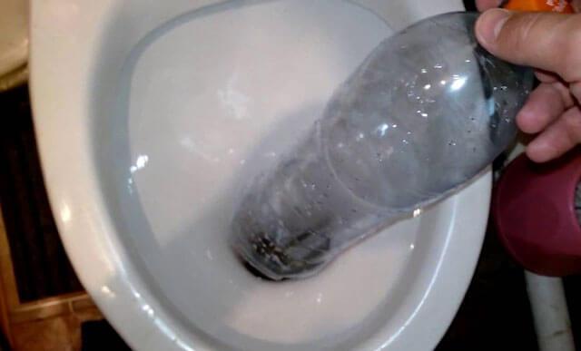 прочистка унитаза