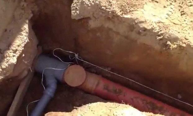 глубина канализационной трубы в частном доме