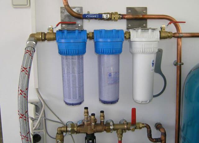 подключение фильтра для воды