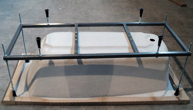 крепеж для акриловой ванны