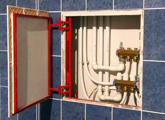 правильная разводка воды в квартире
