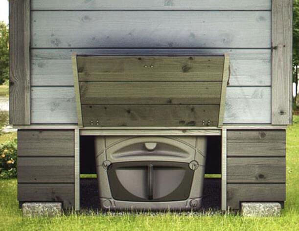 уличный туалет на даче