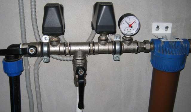 реле регулятор давления воды